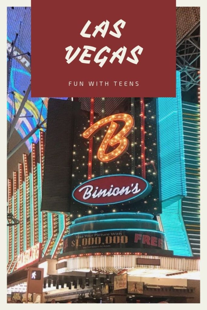 Las Vegas with Teens