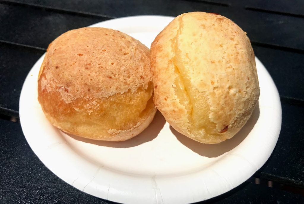 Brazilian Cheese Bread at Epcot Food & Wine Festival