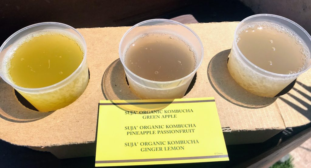 2019 Food & Wine Epcot Kombucha