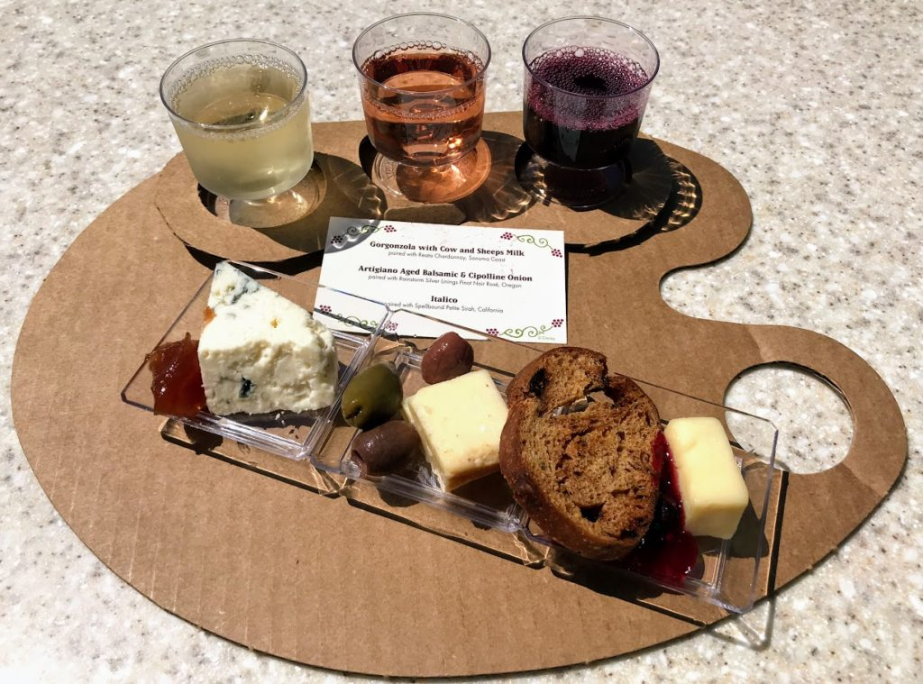 Food & Wine Festival at Epcot - Wine & Dine studio