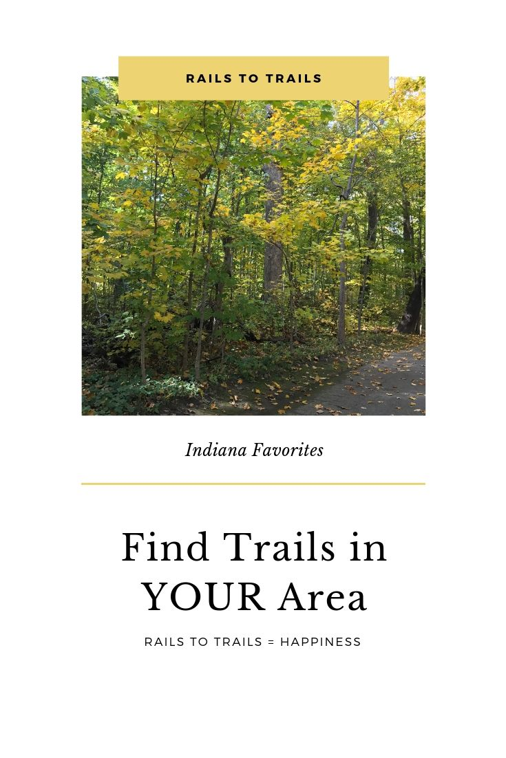 Rails to Trails in Indiana. Along with tips for discovering rails to trails hiking paths wherever you live! #hiking #ouradventureiseverywhere #getoutside