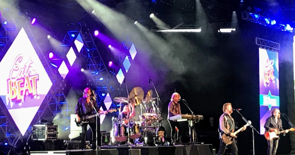 Concerts at Epcot's Food and Wine Festival