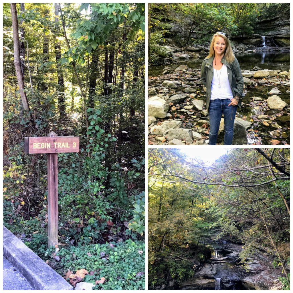 Hiking at McCormick's Creek State Park + Indiana State Parks + Indiana day trips
