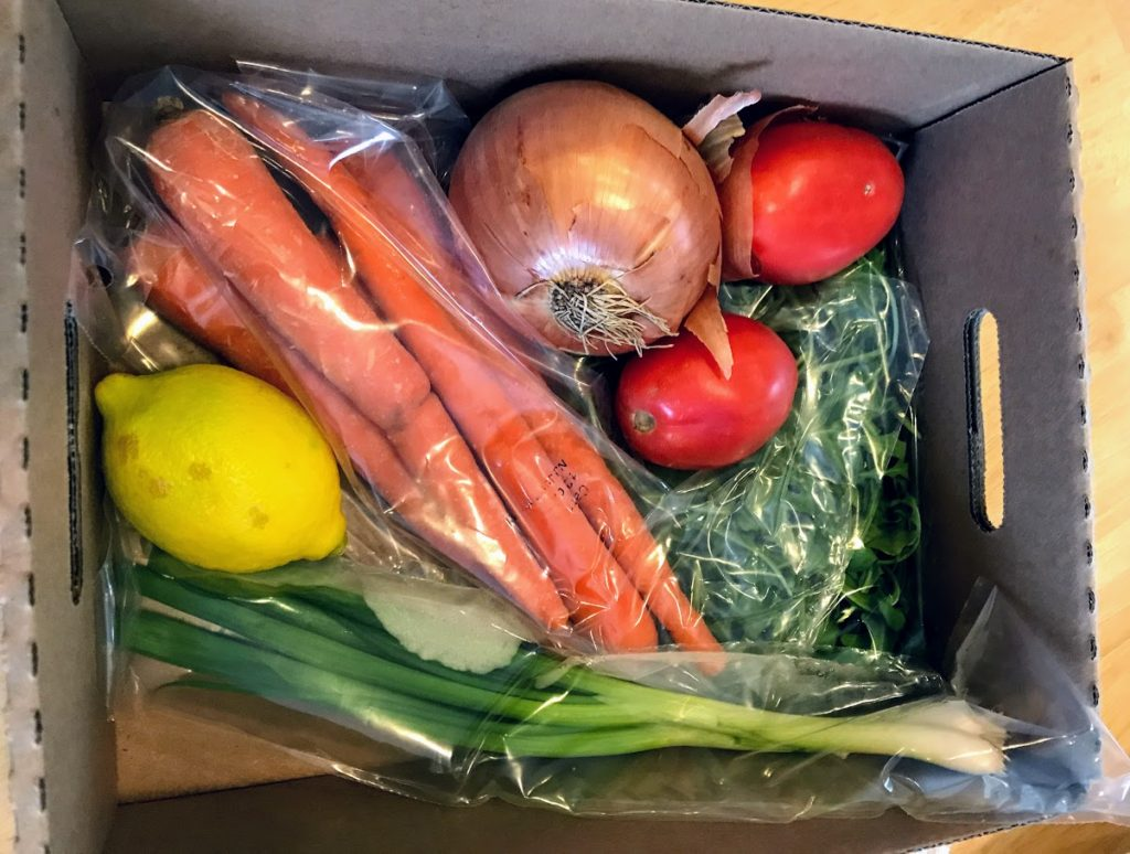 Fresh ingredients delivered by  EveryPlate