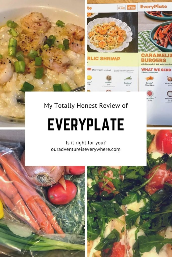 Everyplate review - my totally honest opinion.