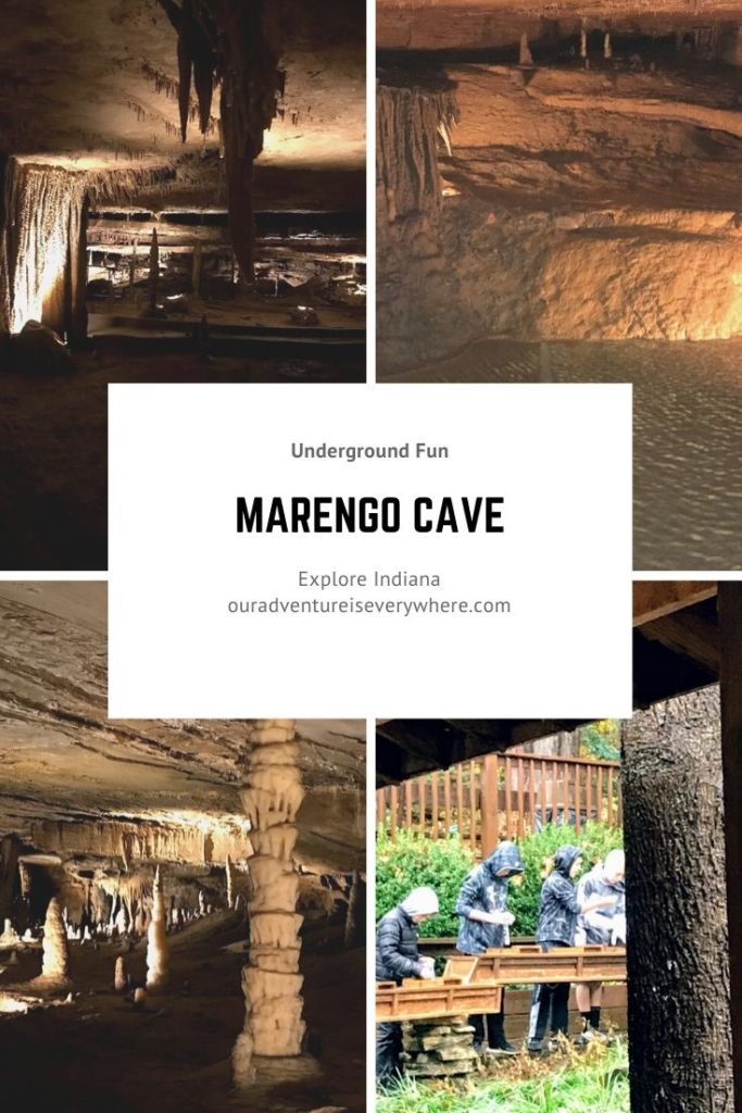 Marengo Cave + Explore Indiana + Midwest travel + family fun