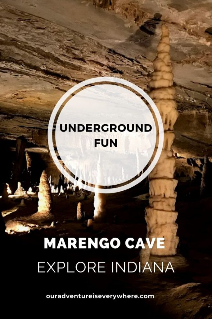 Underground fun at Marengo Cave in Indiana + crawford county