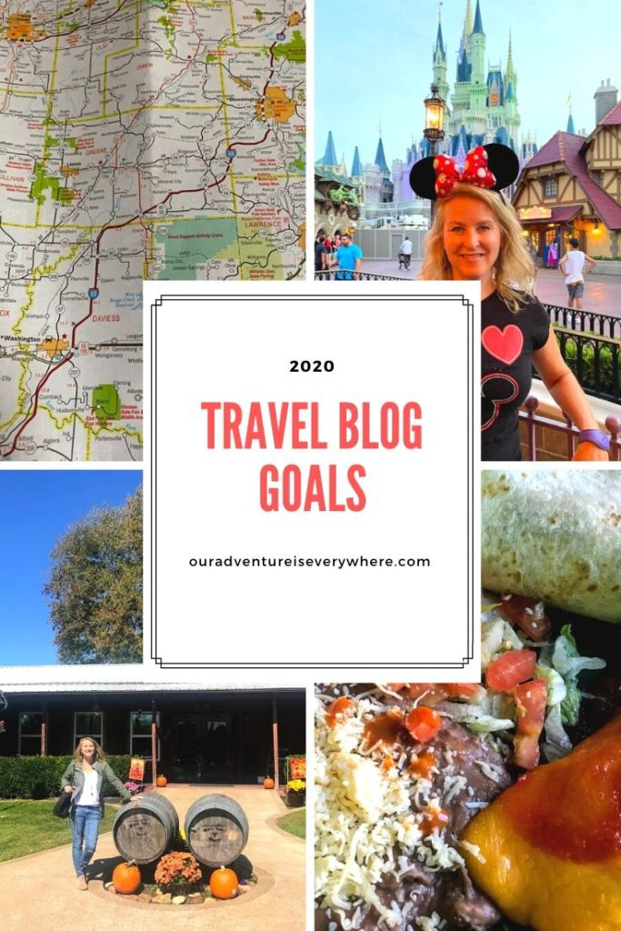 What are your 2020 travel and/or blog goals? In this post, I share the 3 big goals I've set for my travel blog for 2020. #goalsetting #travelblog #blogginggoals