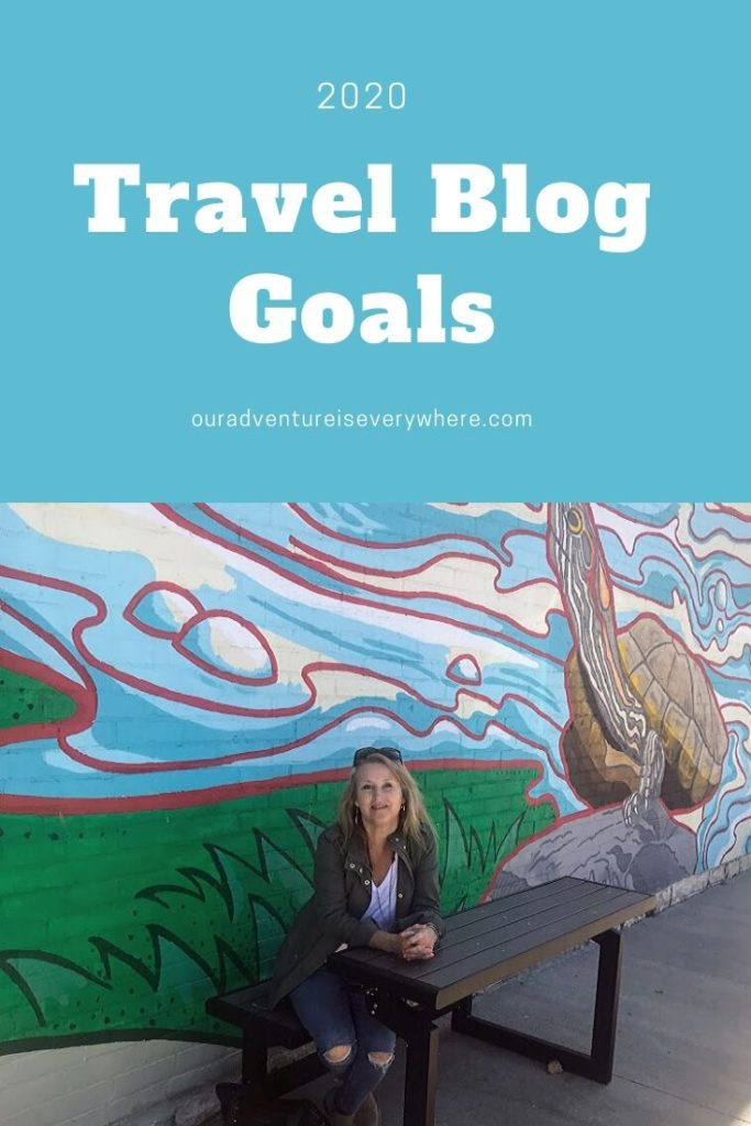 Planning out your 2020 blogging and travel goals? Check out my big 3 for 2020 for inspiration. #goalsetting #travelblogging #2020goals