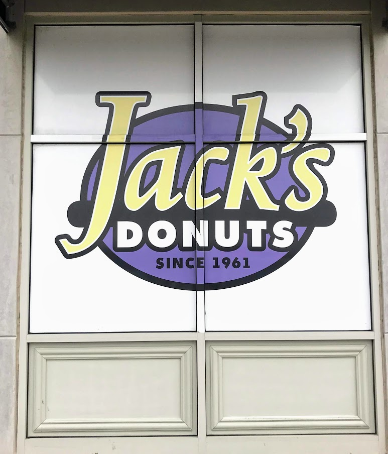 Create your own donut trail and make sure Jack's donuts are part of it!