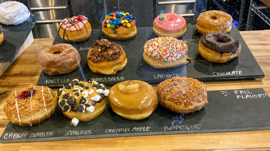 Unique donuts at Rebellion Doughnuts! YUM!