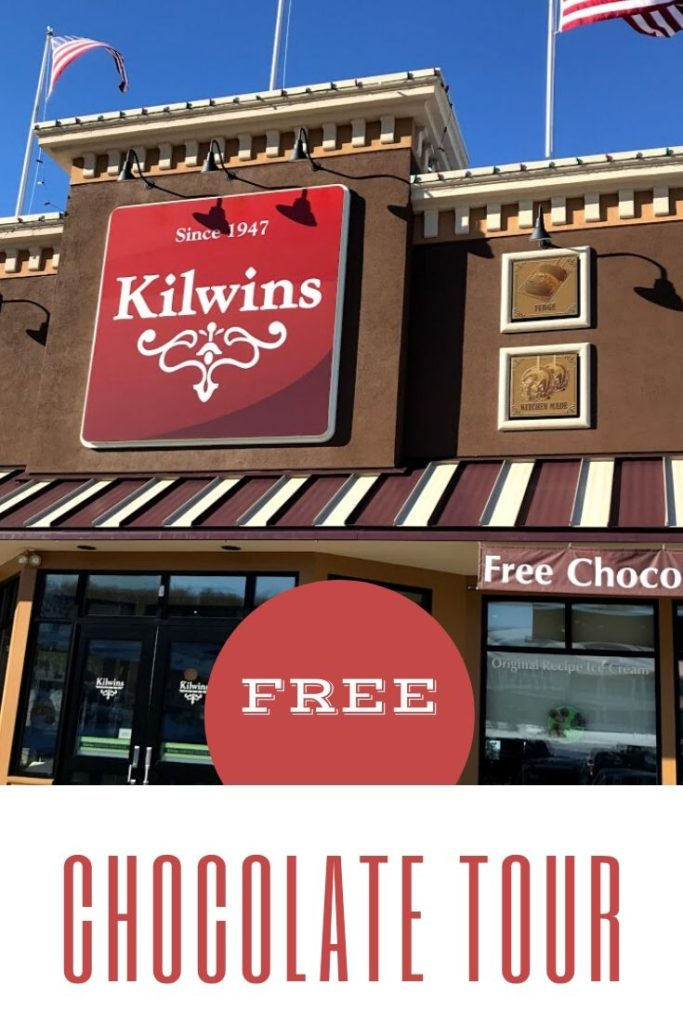 Since 1947 Kilwins has been creating delicious chocolate treats. Enjoy the FREE chocolate tour at the Petoskey, Michigan location and learn how the candies are made and what makes them so special. #foodies #chocolate #familyfun