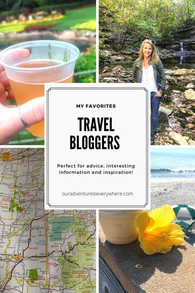 Looking for travel inspiration? Check out these amazing travel bloggers for tips, ideas for places to go and interesting reading. #travelblogs #travelbloggers #ouradventureiseverywhere