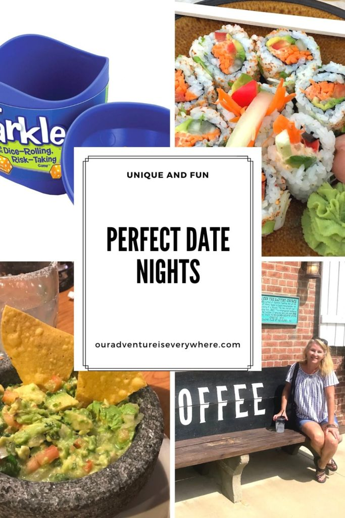 It's almost Valentine's Day - do you have the perfect date night planned? Here are 3 fun and different ideas guaranteed to create a memorable evening! #ouradventureiseverywhere #datenight #everydayadventures