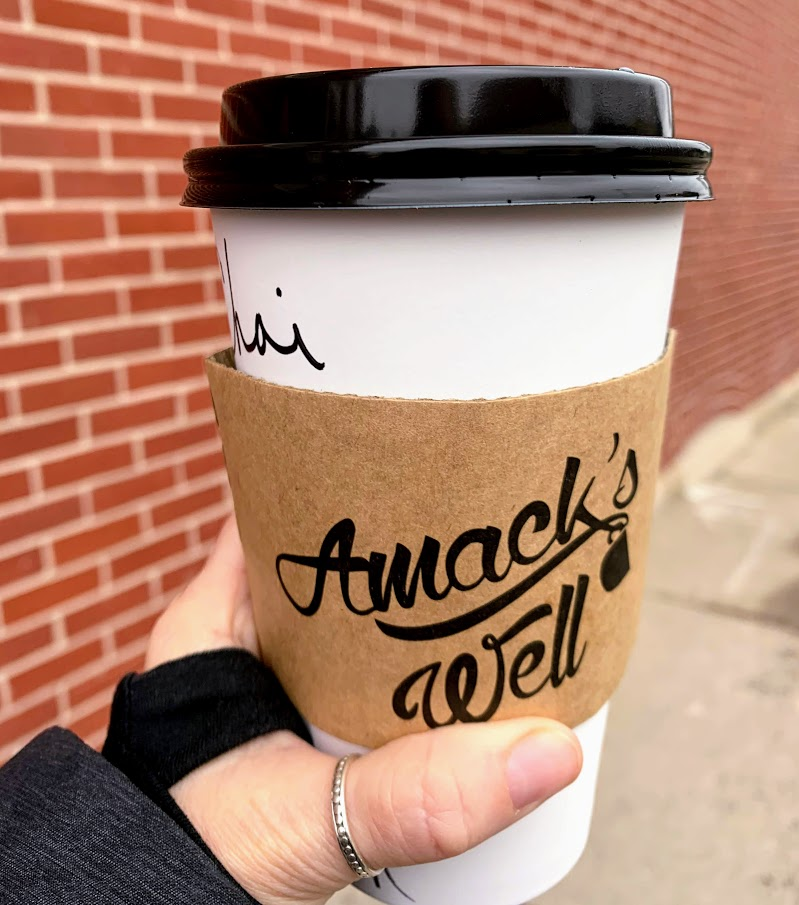 A delicious chai latte from Amack's Well in Batesville, IN