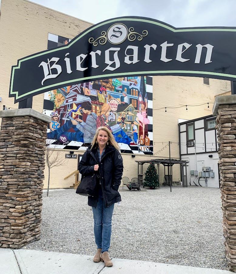 On another, warmer day, I bet this Biergarten at The Sherman is hopping! Talk about Batesville Indiana Fun!