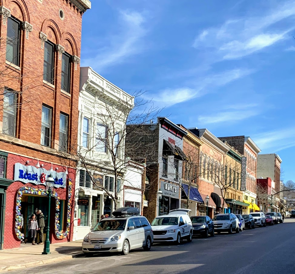 Spend a day shopping in downtown Petoskey on your next ski trip!