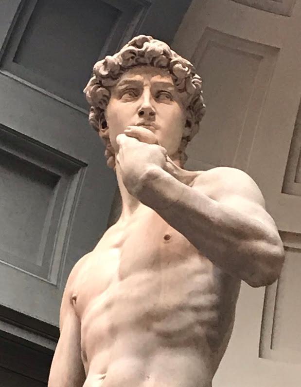 David in Italy