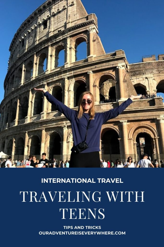 Traveling with teens internationally can be wonderful - if you do it right! Tanya from Traveling Tanya is here to share a guest post with us on why you need to plan that international trip with your teens NOW! #travelwithteens #ouradventureiseverywhere