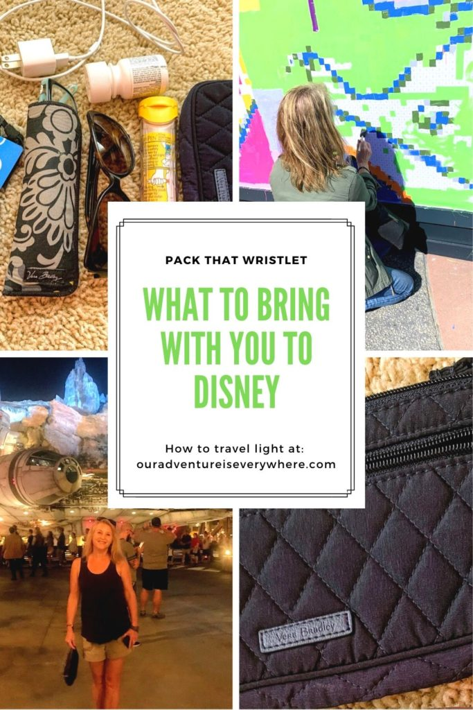 What should you pack when you visit Walt Disney World Parks? What do you really need with your for the day and what bag should you use? All these questions answered in this post! #disneyplanning #ouradventureiseverywhere #packingtips