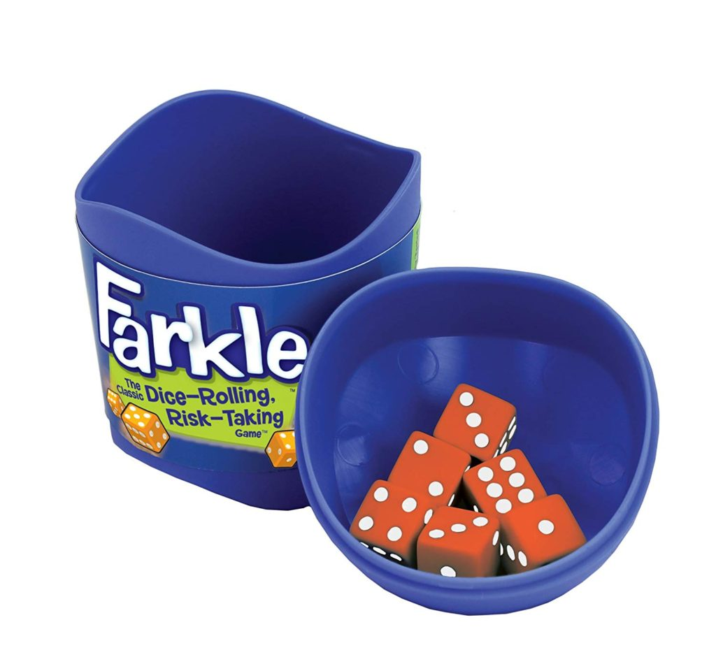 Play a fun game like Farkle on your next date night!