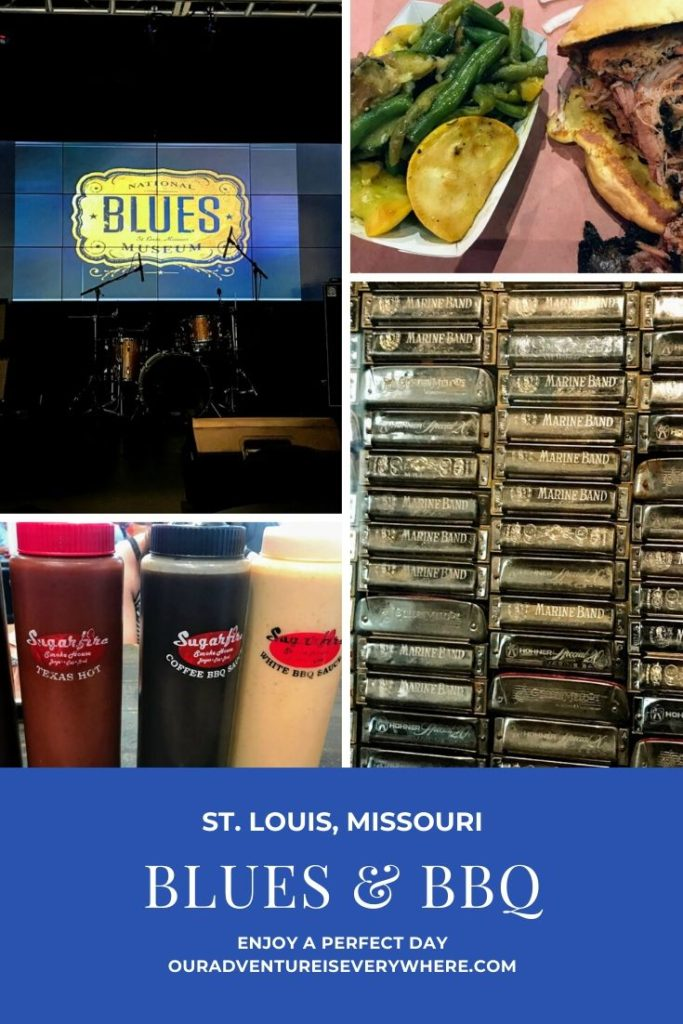 Do you love BBQ and the Blues? If so, get ready to enjoy a perfect day in St. Louis! #BBQ #Blues #ouradventureiseverywhere