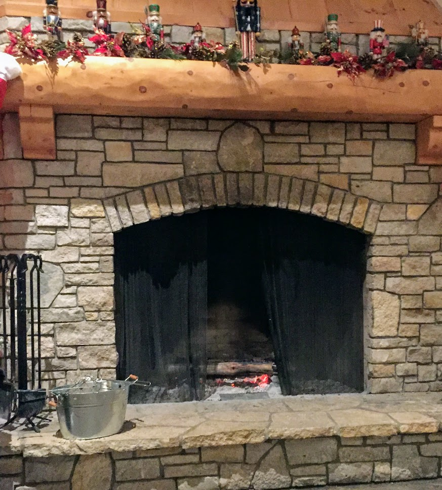 Enjoy the fire with a good book on your next ski trip.