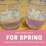 Fun Cocktails for Spring Break