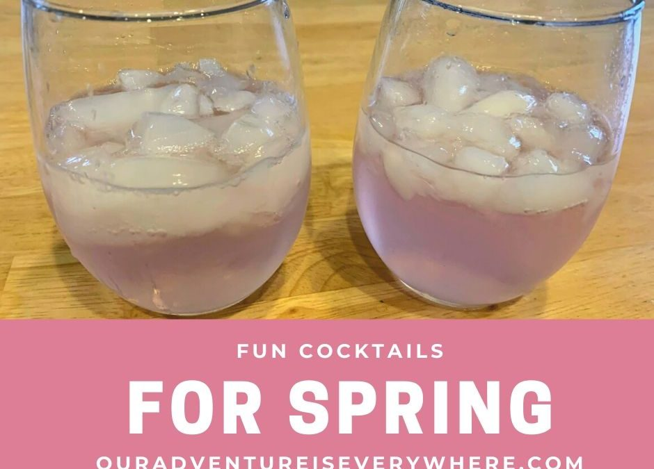 Fun Drinks for Spring Break