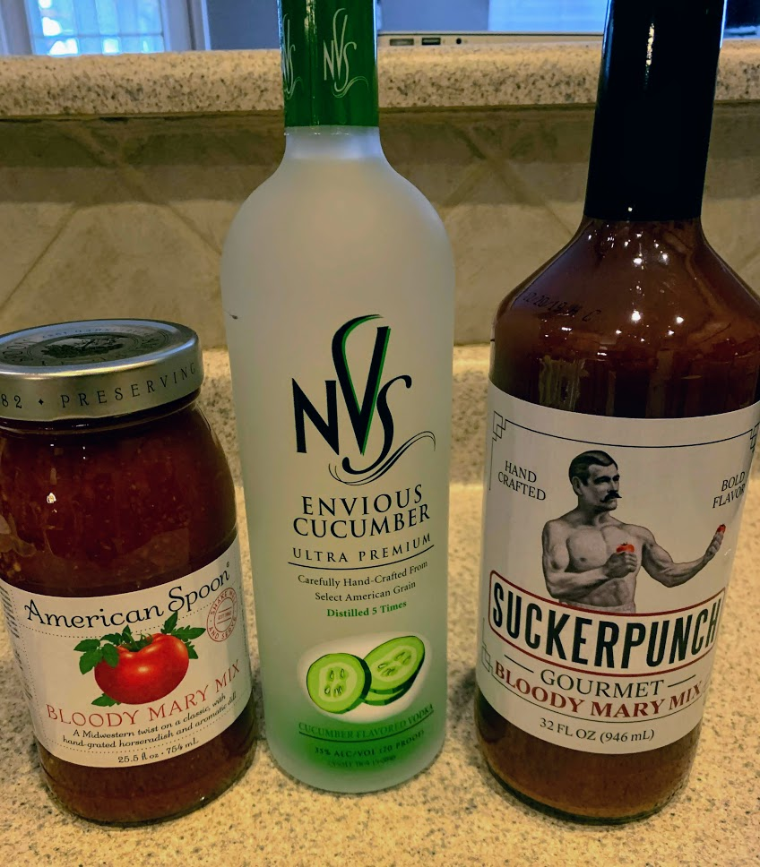 Make the perfect bloody mary for your spring break drink!