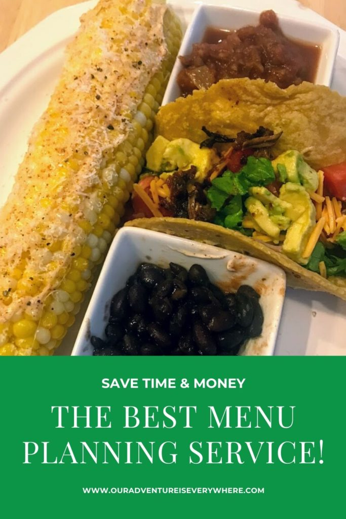 Are you looking for easy dinner ideas? Ways to save time and money on dinner each night? If so, this is the post for you - I share my favorite tool for saving time, money and enjoying delicious food! #savemoney #easydinnerideas #ouradventureiseverywhere