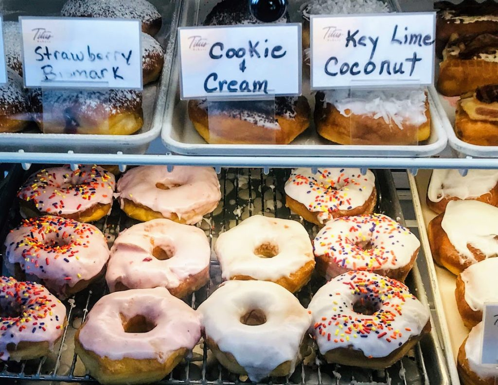 Donuts available for carry-out at Titus