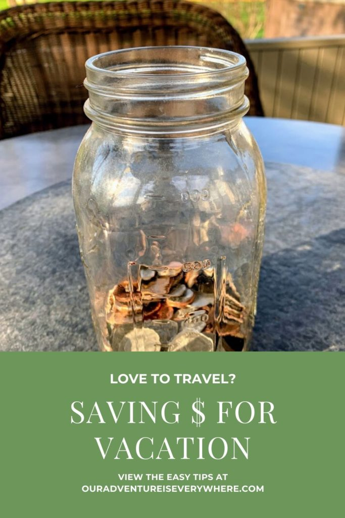 Love to travel? Start saving money for your next vacation. In this post I share ways to save and earn money so you can travel more! #travel #savemoney #ouradventureiseverywhere