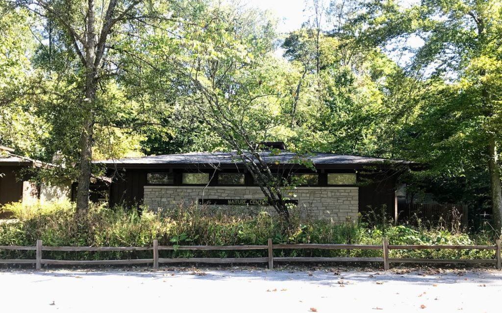 State Parks often offer nature centers - this one is at McCormick's Creek State Park in Indiana
