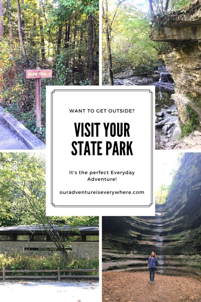 Make the most of your visit to a state park with these ideas and things to consider. It can be the perfect everyday adventure if you are prepared! #ouradventureiseverywhere #stateparks #indianastateparks
