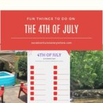 Fun Things to Do for the 4th of July!
