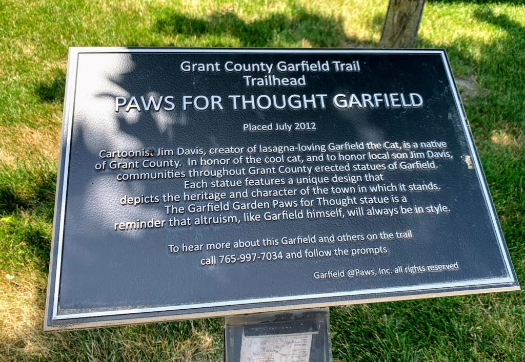 The Grant County Garfield Trail