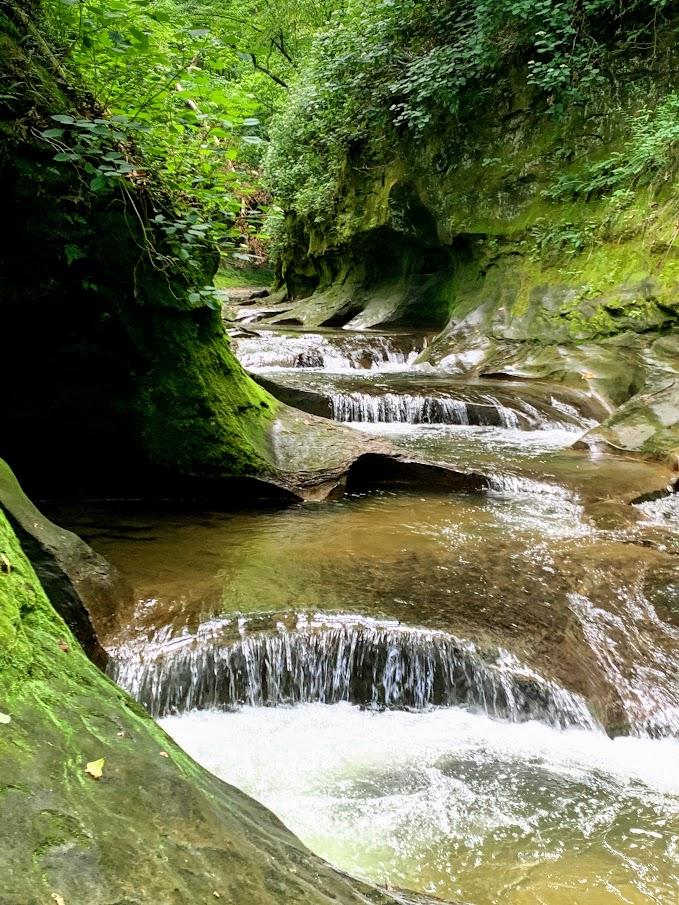 Fall Creek Gorge Waterfalls