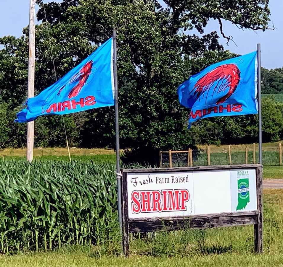 RDM Shrimp Farm in Benton County, Indiana