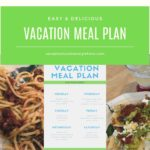 The Best Vacation Grocery List & Meal Plan