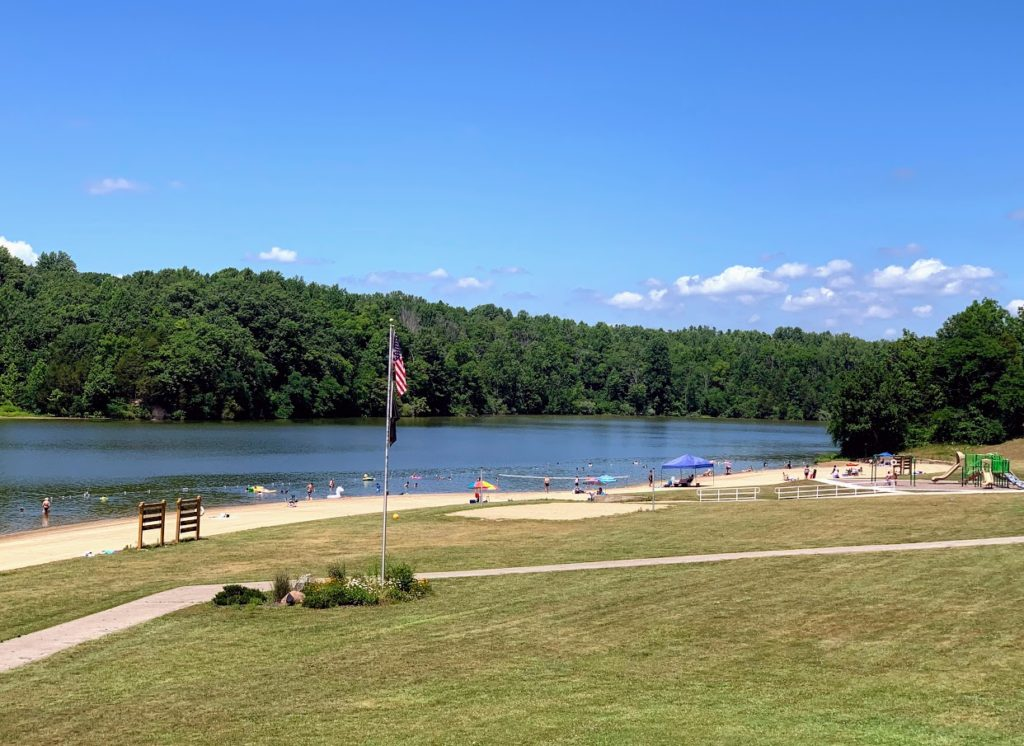 Outdoor hidden adventure in Eastern Indiana, Whitewater Memorial State Park Beach