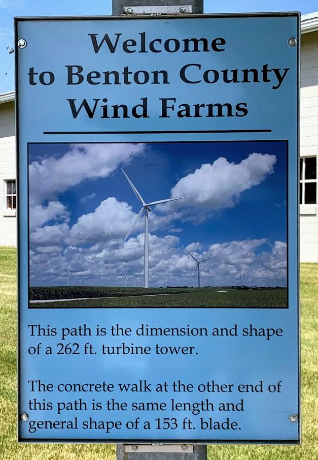 Benton County Wind Corridor Kiosk