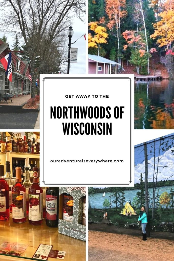 Are you looking for a fun new place to explore? How about the Northwoods of Wisconsin? With beautiful lakes, quaint small towns and delicious foods, it's the perfect getaway! #getaways #midwesttravel #midwestfun