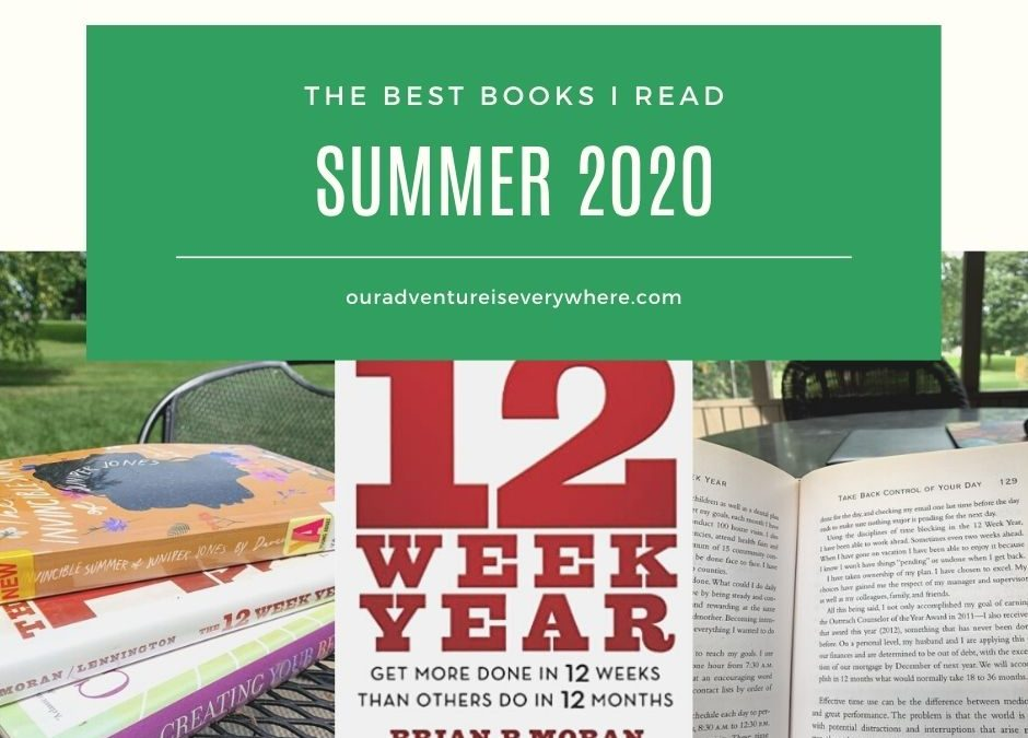 Best books I read summer 2020