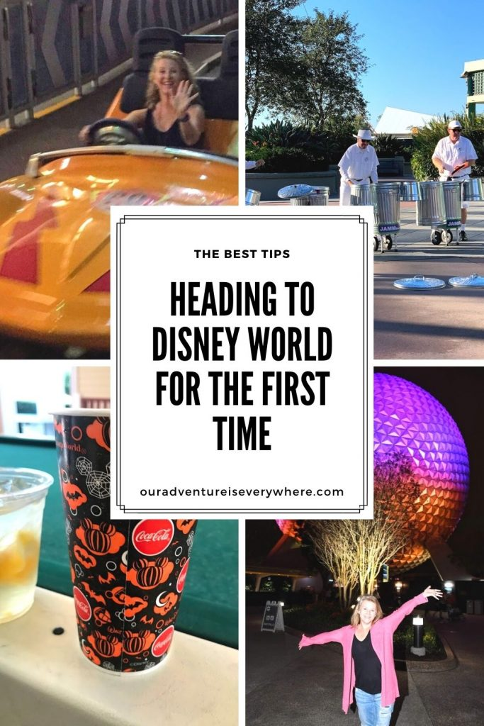 Looking for tips for planning your first trip to Disney World? These are the top 5 things to remember to help make your Disney World vacation memorable! #disney #disneyplanning #vacationtips