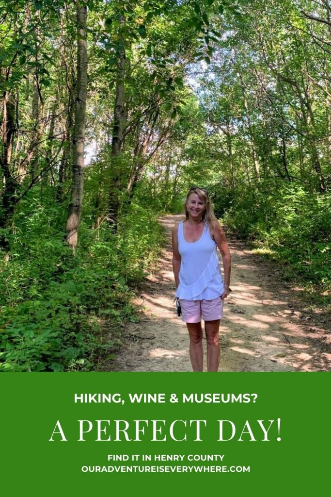 Do you love museums, history, hiking and wine? Water too? Then you'll enjoy the perfect day in Henry County, IN. Just a short day trip from Indianapolis, there are plenty of fun things to do for the whole family! #daytrips #ouradventureiseverywhere #familyfun