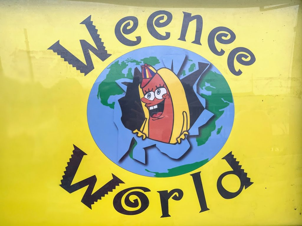 Weenee World Hot Dog stand in Henry County, Indiana