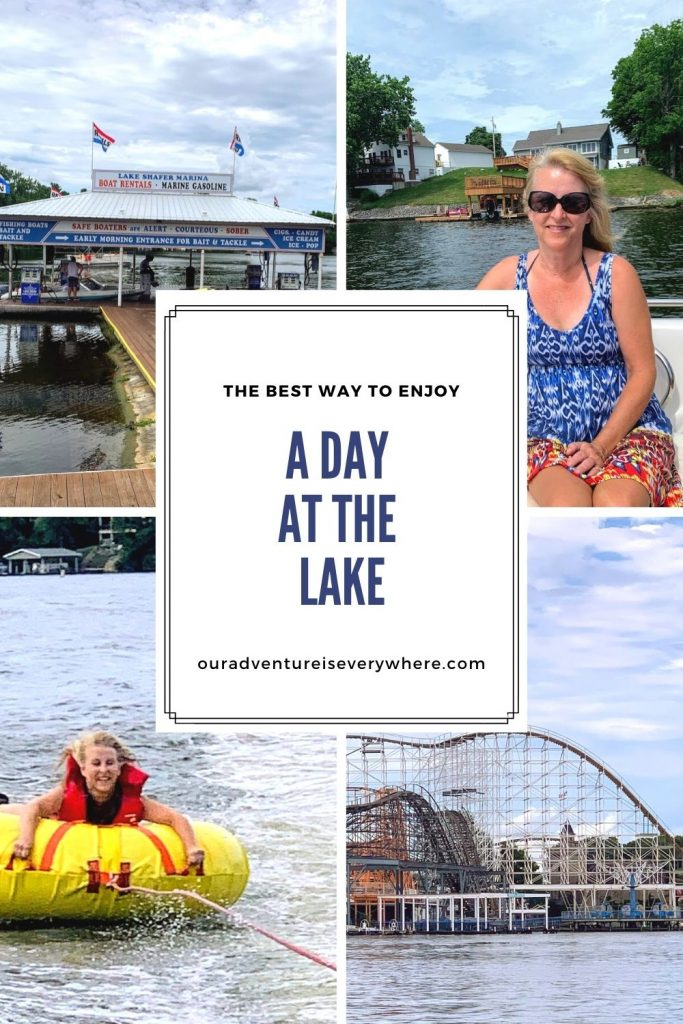 Do you have a free afternoon and a lake nearby? Why not get out and enjoy a day on the lake? Learn how to enjoy a perfect day on the lake! #lakelife #summerfun #daytrips