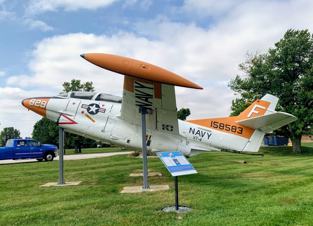 Grissom air museum in Miami County, Indiana