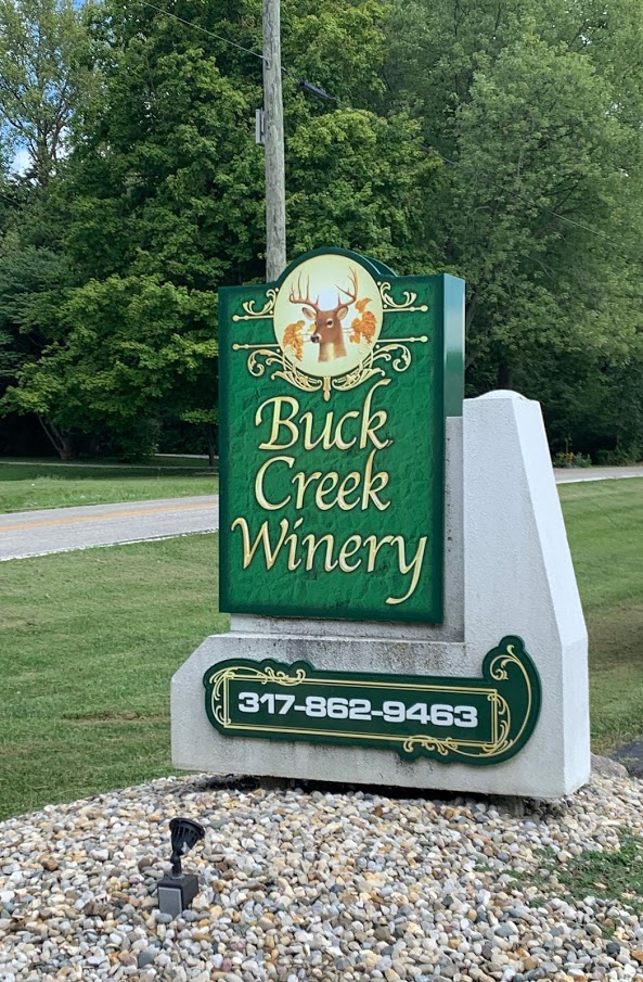 Grab a wine slushie at Buck Creek Winery